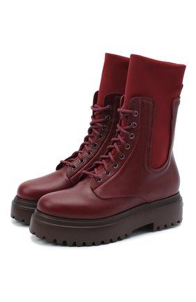 Кожаные ботинки Ranger | Фото №1