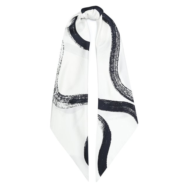 Шелковый шарф St. John