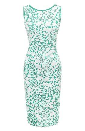 Женское платье из вискозы ST. JOHN зеленого цвета, арт. K1100N1 | Фото 1