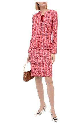 Женская юбка ST. JOHN красного цвета, арт. K7100K2 | Фото 2