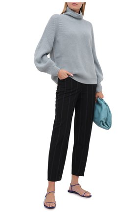 Женские брюки SEE BY CHLOÉ черного цвета, арт. CHS20APA05026 | Фото 2