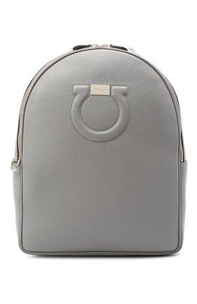 Женский рюкзак SALVATORE FERRAGAMO серого цвета, арт. Z-0737564 | Фото 1