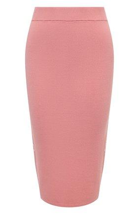 Женская юбка MICHAEL MICHAEL KORS розового цвета, арт. MU07F5RBVC | Фото 1