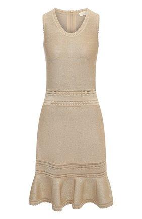 Женское платье MICHAEL MICHAEL KORS золотого цвета, арт. MU08ZUCBVC | Фото 1