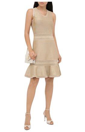 Женское платье MICHAEL MICHAEL KORS золотого цвета, арт. MU08ZUCBVC | Фото 2