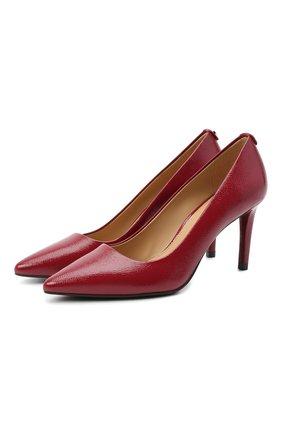 Женская кожаные туфли dorothy MICHAEL MICHAEL KORS бордового цвета, арт. 40S9D0MP1A | Фото 1