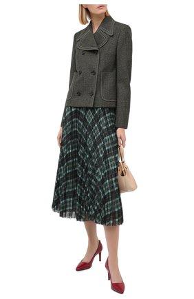 Женская кожаные туфли dorothy MICHAEL MICHAEL KORS бордового цвета, арт. 40S9D0MP1A | Фото 2