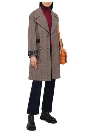 Женский пуловер PIETRO BRUNELLI бордового цвета, арт. MAG001/VISPER | Фото 2