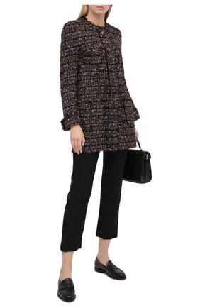 Женское пальто DOLCE & GABBANA коричневого цвета, арт. F0AI0T/HUMEI | Фото 2