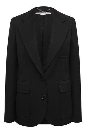 Женский шерстяной жакет STELLA MCCARTNEY черного цвета, арт. 601658/SPA03 | Фото 1