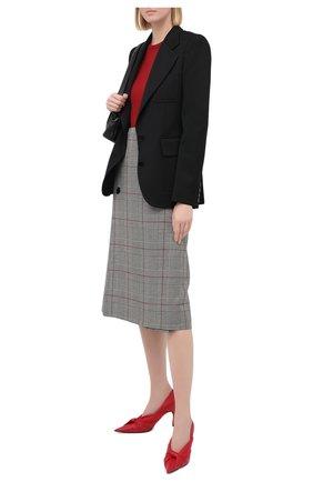 Женский шерстяной жакет STELLA MCCARTNEY черного цвета, арт. 601658/SPA03 | Фото 2