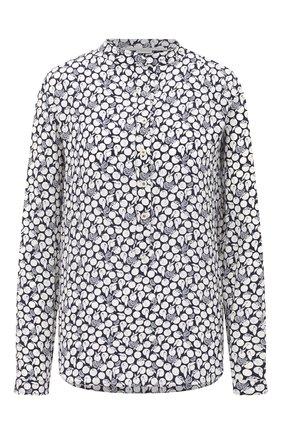 Женская шелковая блузка STELLA MCCARTNEY синего цвета, арт. 531885/SPA22 | Фото 1