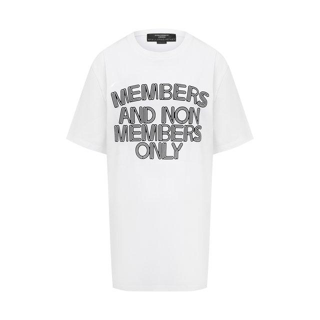Хлопковая футболка Stella McCartney