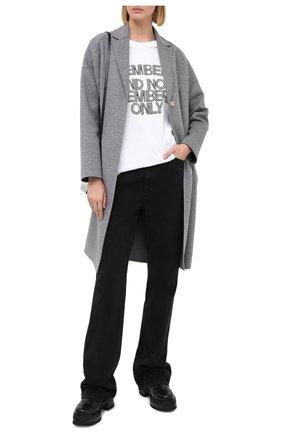 Женская хлопковая футболка STELLA MCCARTNEY белого цвета, арт. 569294/SMP89 | Фото 2