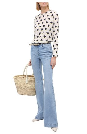 Женские джинсы STELLA MCCARTNEY голубого цвета, арт. 372775/S0H07 | Фото 2