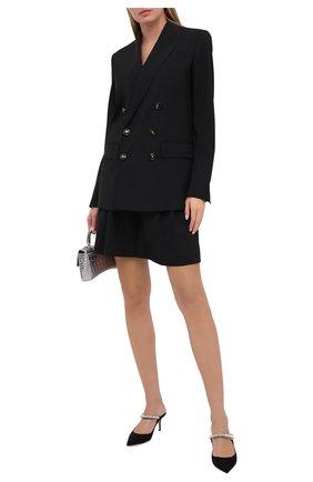 Женский шерстяной костюм DSQUARED2 черного цвета, арт. S75FT0213/S40320 | Фото 1