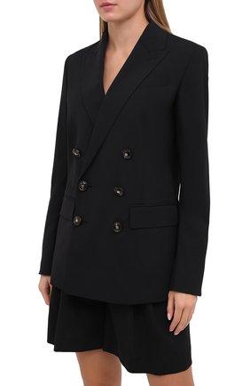 Женский шерстяной костюм DSQUARED2 черного цвета, арт. S75FT0213/S40320 | Фото 2