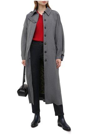 Женский кашемировый пуловер GIORGIO ARMANI красного цвета, арт. 6HAM18/AM83Z | Фото 2
