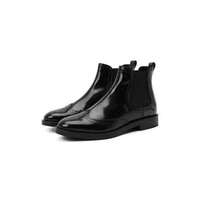 Комбинированные ботинки Tod's