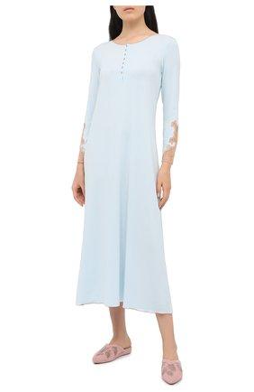 Женская сорочка GIANANTONIO PALADINI голубого цвета, арт. W05GC03/L | Фото 2