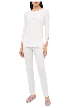 Женская пижама GIANANTONIO PALADINI белого цвета, арт. W05GP03 | Фото 1