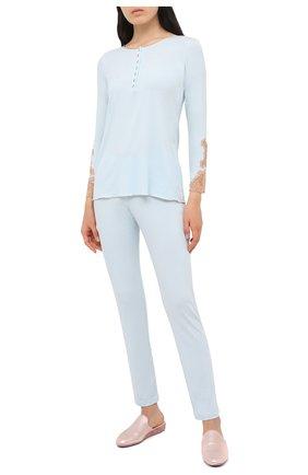 Женская пижама GIANANTONIO PALADINI голубого цвета, арт. W05GP03 | Фото 1