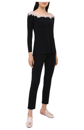 Женская пижама GIANANTONIO PALADINI черного цвета, арт. W01TP02 | Фото 1