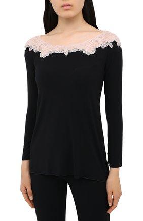 Женская пижама GIANANTONIO PALADINI черного цвета, арт. W01TP02 | Фото 2