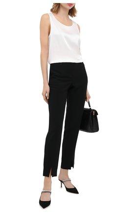 Женские брюки ST. JOHN черного цвета, арт. K886W10   Фото 2