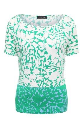 Женский топ ST. JOHN зеленого цвета, арт. K5100F1   Фото 1