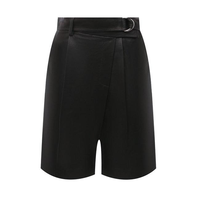 Кожаные шорты Helmut Lang