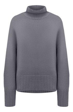Женский кашемировый пуловер LORO PIANA серого цвета, арт. FAI7129 | Фото 1