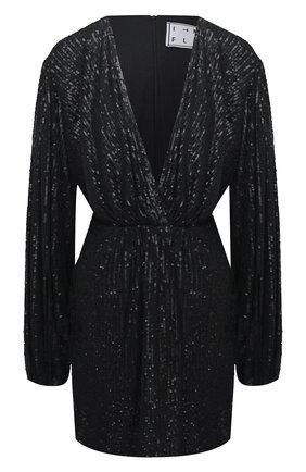 Женское платье с пайетками IN THE MOOD FOR LOVE черного цвета, арт. NEW Y0UNG DRESS | Фото 1