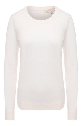 Женский пуловер MICHAEL MICHAEL KORS белого цвета, арт. MU06PAYCHN   Фото 1