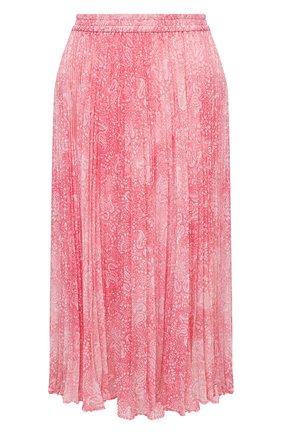 Женская юбка MICHAEL MICHAEL KORS розового цвета, арт. MU07EZ0EMV | Фото 1