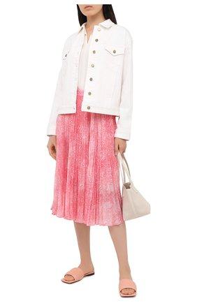 Женская юбка MICHAEL MICHAEL KORS розового цвета, арт. MU07EZ0EMV | Фото 2