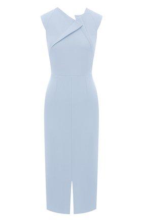 Женское платье ROLAND MOURET голубого цвета, арт. PW20/S0920/F2196   Фото 1
