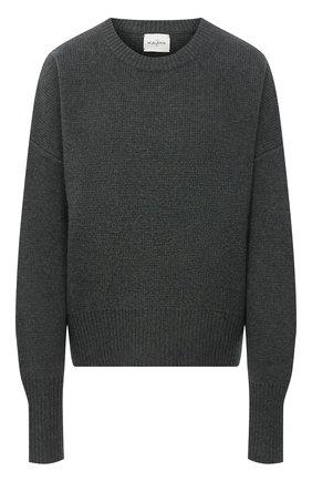 Женский кашемировый свитер LE KASHA хаки цвета, арт. EVREUX0 | Фото 1