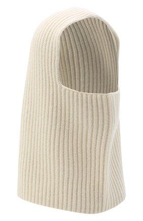 Женского кашемировая шапка-балаклава JOSEPH белого цвета, арт. JF004841 | Фото 1