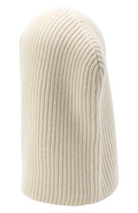 Женского кашемировая шапка-балаклава JOSEPH белого цвета, арт. JF004841 | Фото 2