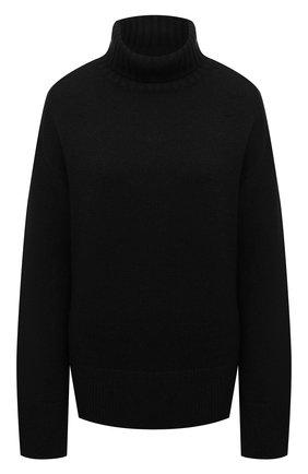 Женский кашемировый свитер JOSEPH черного цвета, арт. JF004836   Фото 1