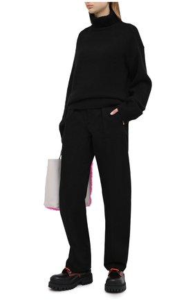 Женский кашемировый свитер JOSEPH черного цвета, арт. JF004836   Фото 2