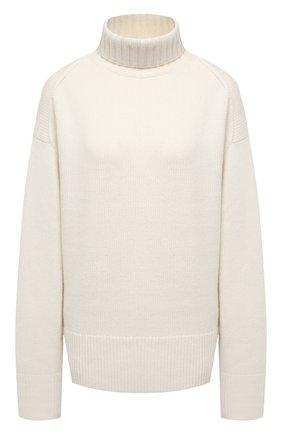 Женский кашемировый свитер JOSEPH белого цвета, арт. JF004836 | Фото 1