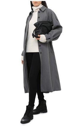 Женский кашемировый свитер JOSEPH белого цвета, арт. JF004836 | Фото 2
