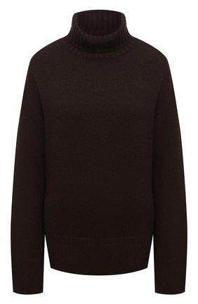 Женский кашемировый свитер JOSEPH коричневого цвета, арт. JF004836   Фото 1