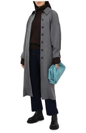 Женский кашемировый свитер JOSEPH коричневого цвета, арт. JF004836   Фото 2