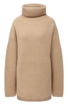 Женский шерстяной свитер JOSEPH бежевого цвета, арт. JF004801 | Фото 1