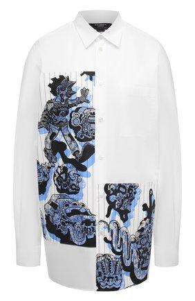 Женская хлопковая рубашка STELLA MCCARTNEY синего цвета, арт. 601943/SPN09 | Фото 1