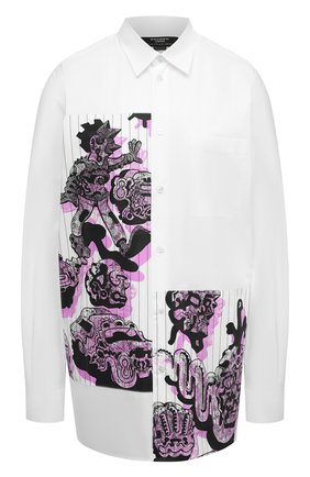 Женская хлопковая рубашка STELLA MCCARTNEY белого цвета, арт. 601943/SPN09 | Фото 1
