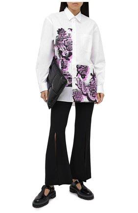 Женская хлопковая рубашка STELLA MCCARTNEY белого цвета, арт. 601943/SPN09 | Фото 2
